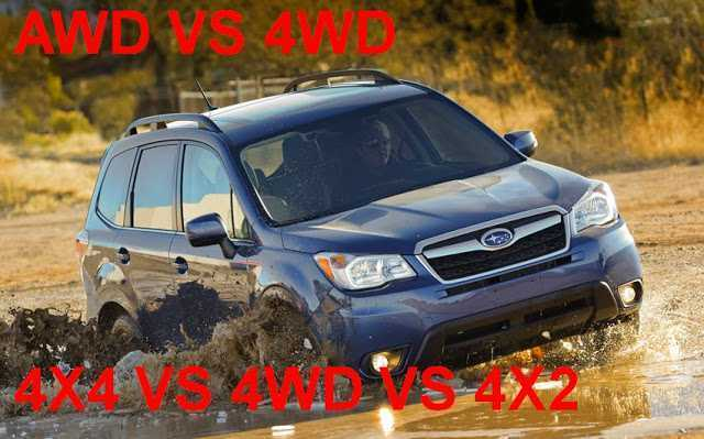 AWD vs 4WD