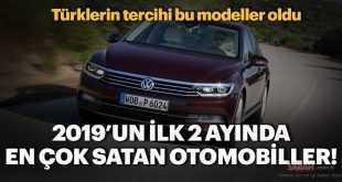 Türkiye'de en çok satılan otomobiller