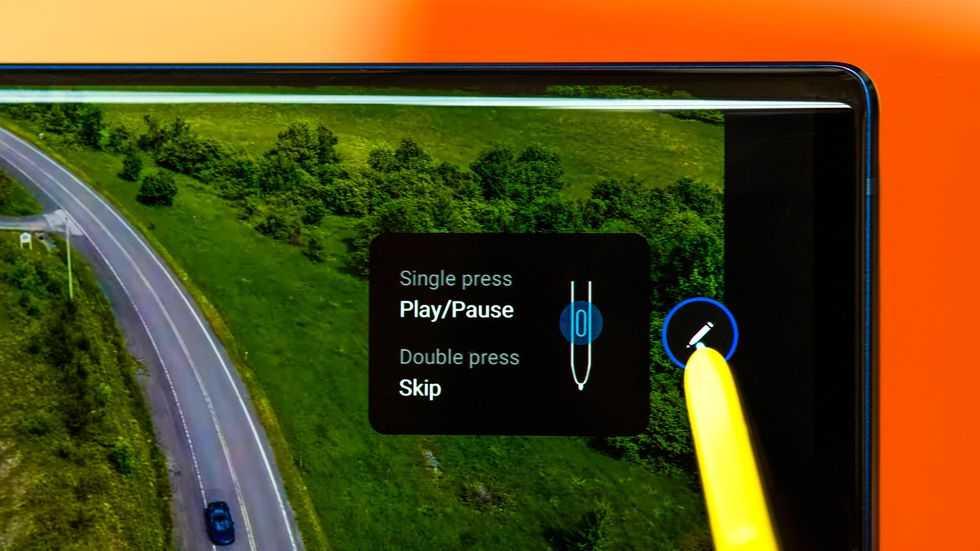 S Pen stylus'u uzaktan kumanda olarak kullanma
