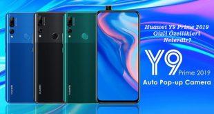 Huawei Y9 Prime 2019 Gizli Özellikleri Nelerdir