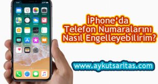 iphone numara engelleme